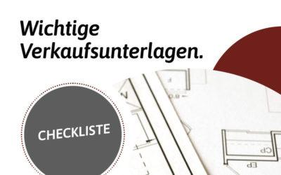 Checkliste: Wichtige Unterlagen für den Verkauf der Immobilie in der Region Nürnberg, Roth, Schwabach, Feucht